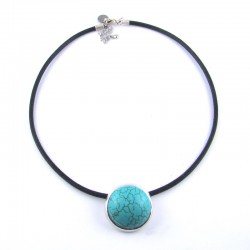 COL big pop howlite turquoise