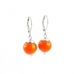BO sphère verre orange