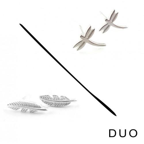 Duo de puces bohemian