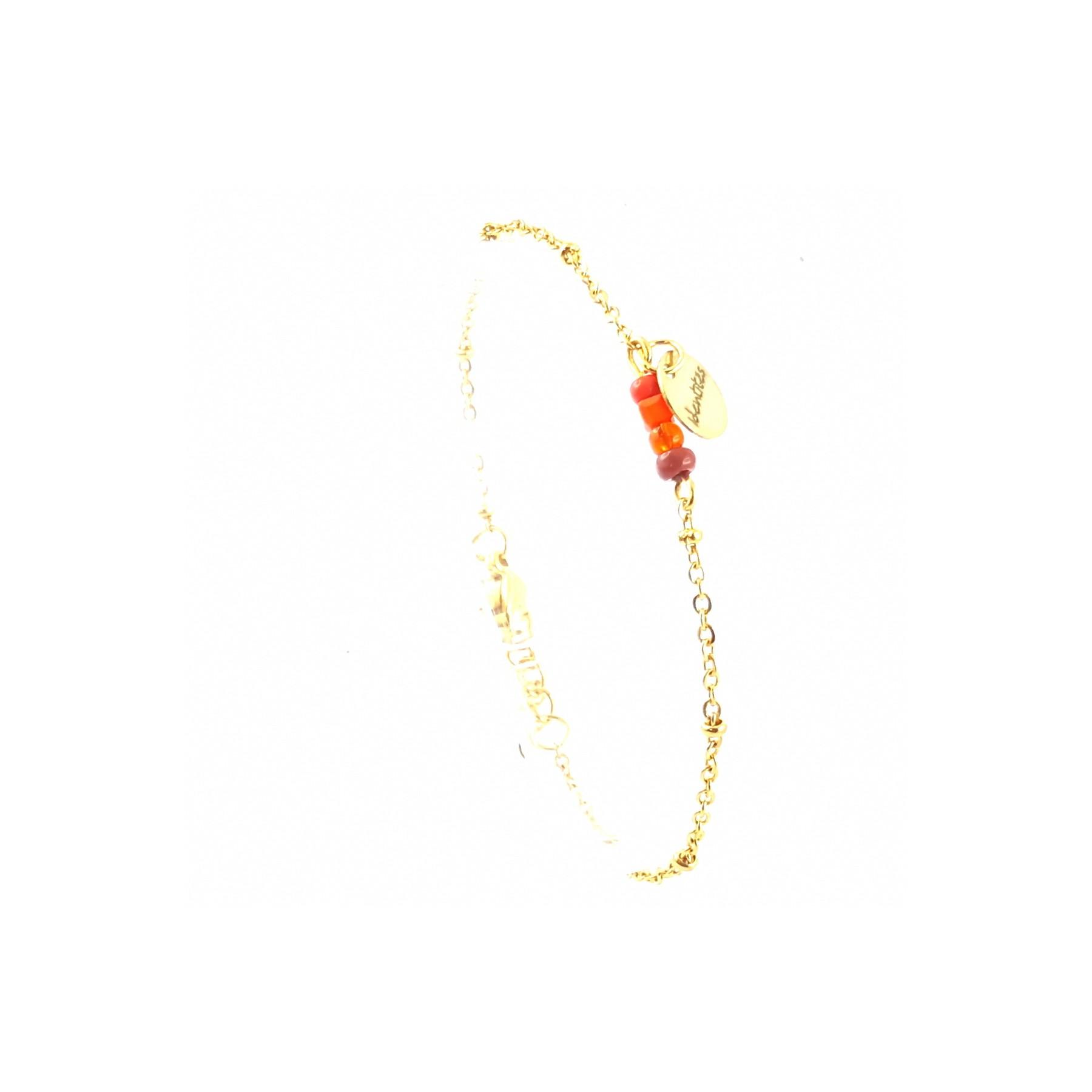 BRA perles couleurs chaudes