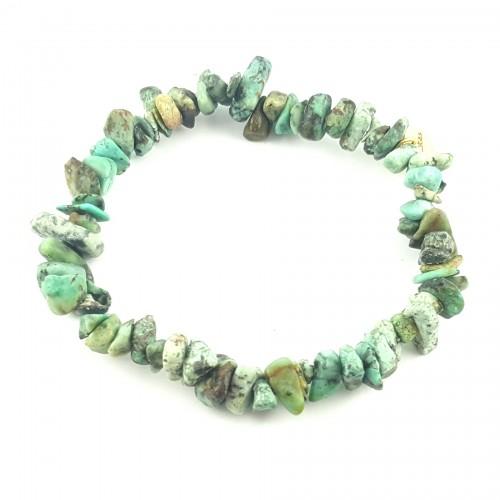BRA élastique turquoise africaine