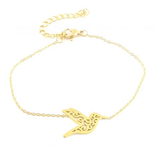 Bracelet oiseau arabesque