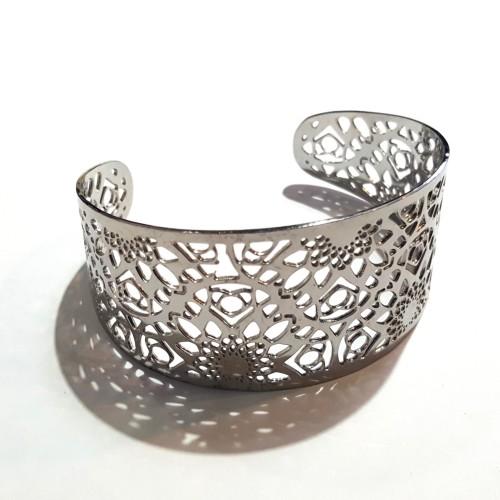 Bracelet manchette arabesque