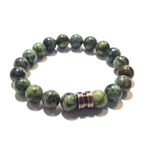 Bracelet homme turquoise africaine