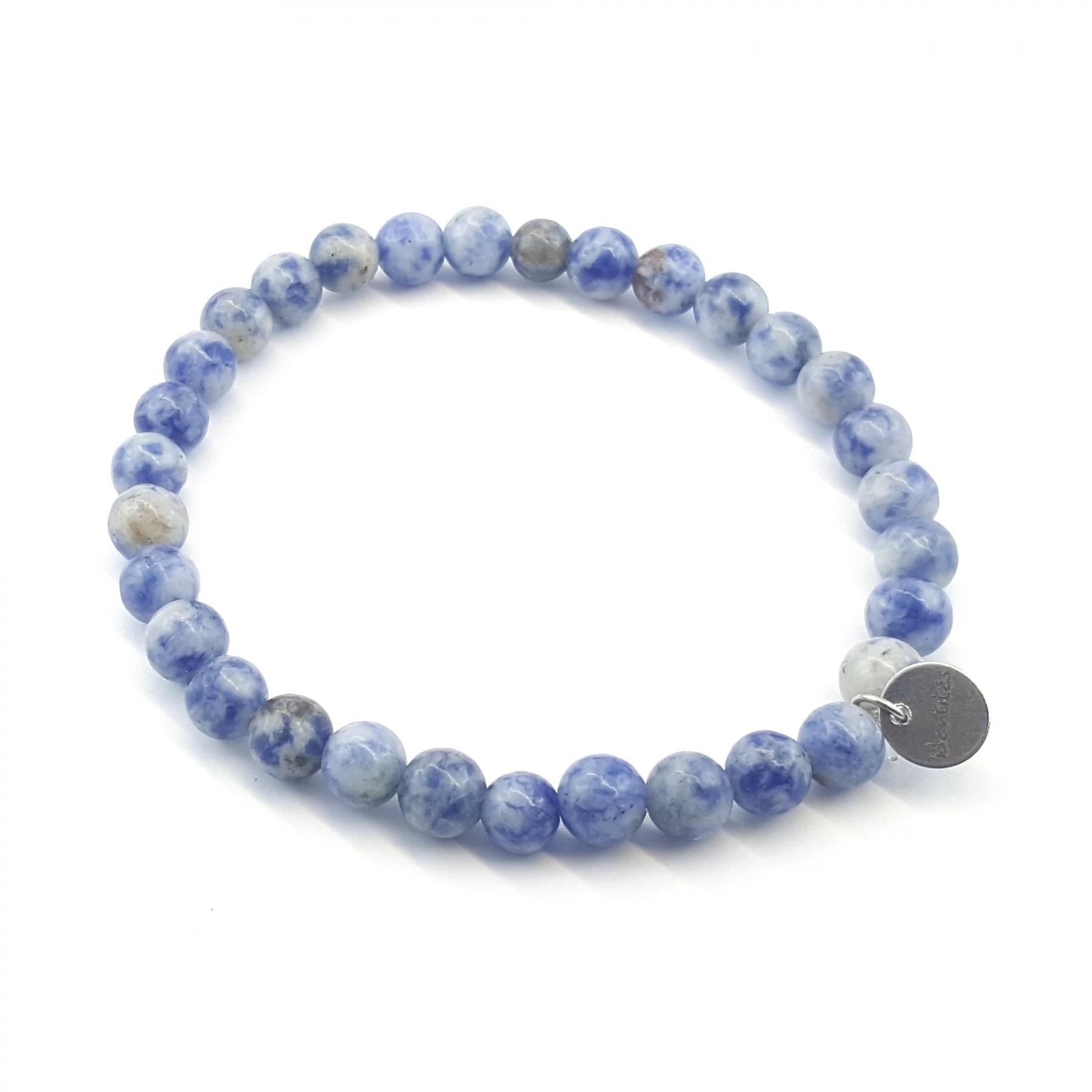 Bracelet élastique sodalite