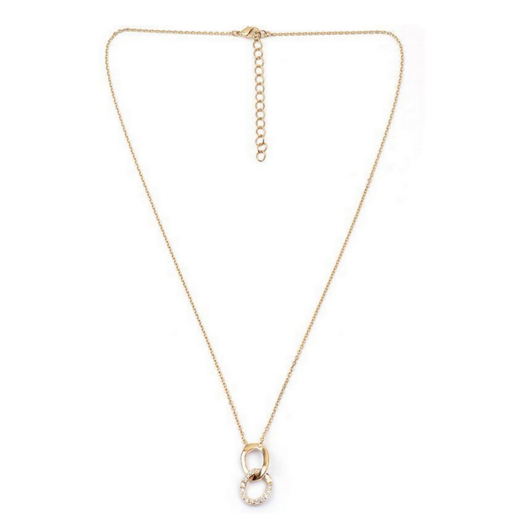 Collier 2 maillons et oxydes