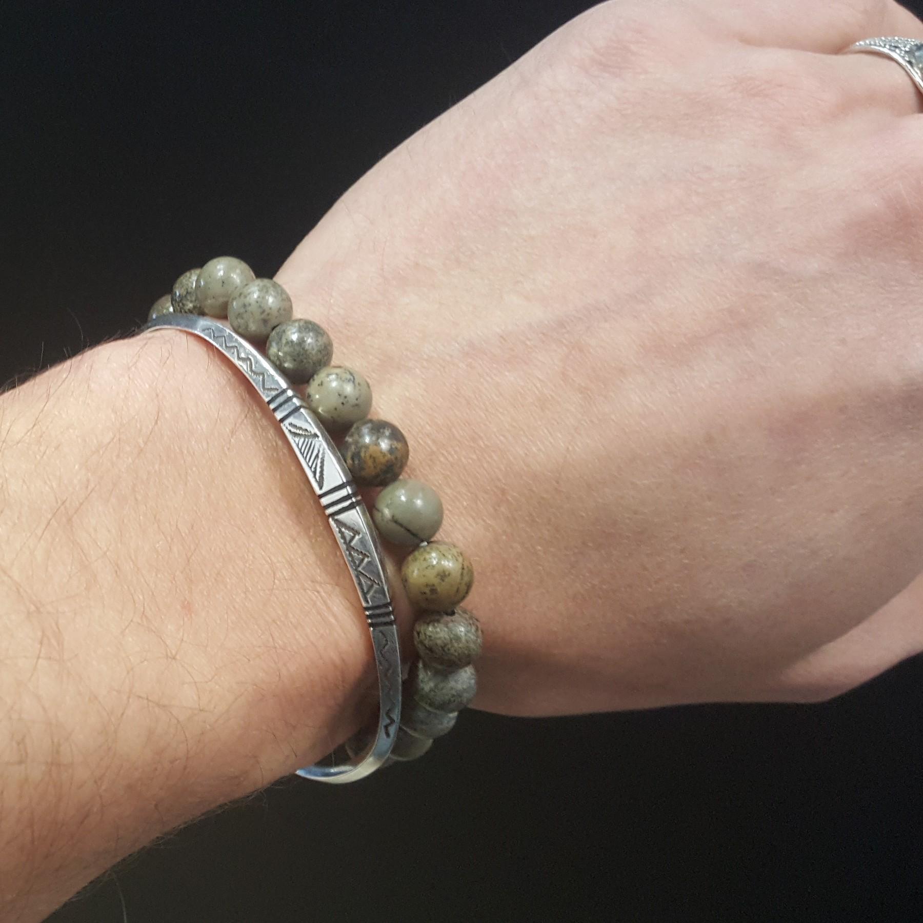 Bracelet jaspe de chohua