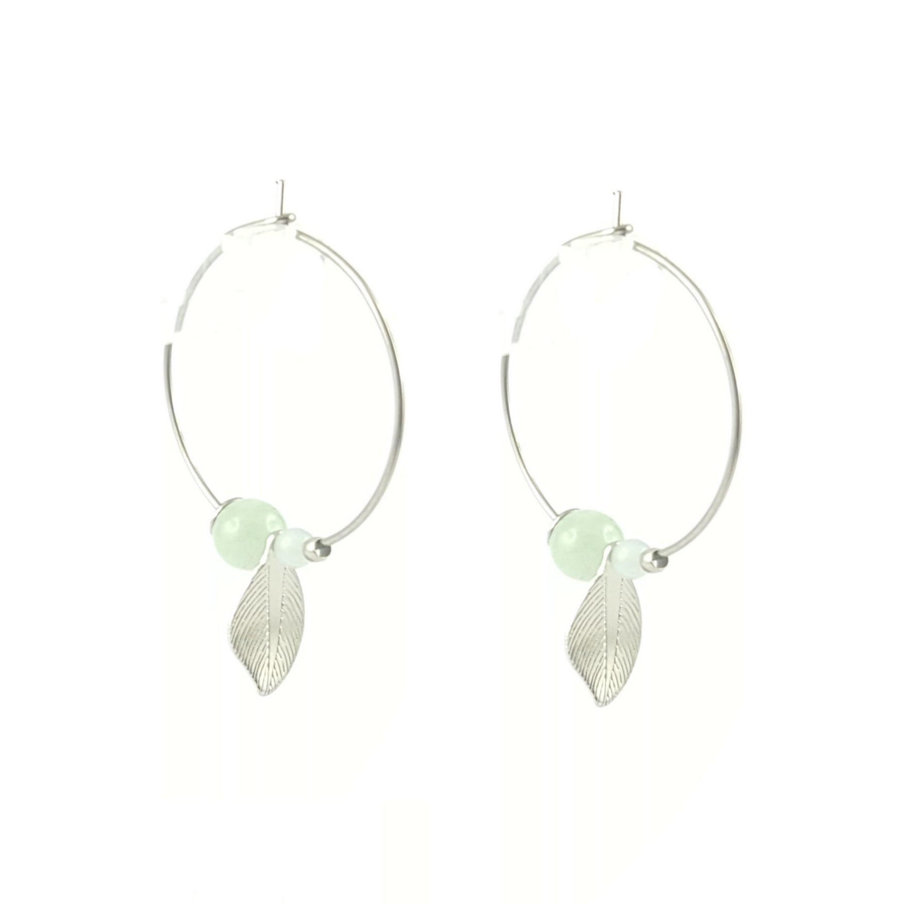 Créole acier et jade