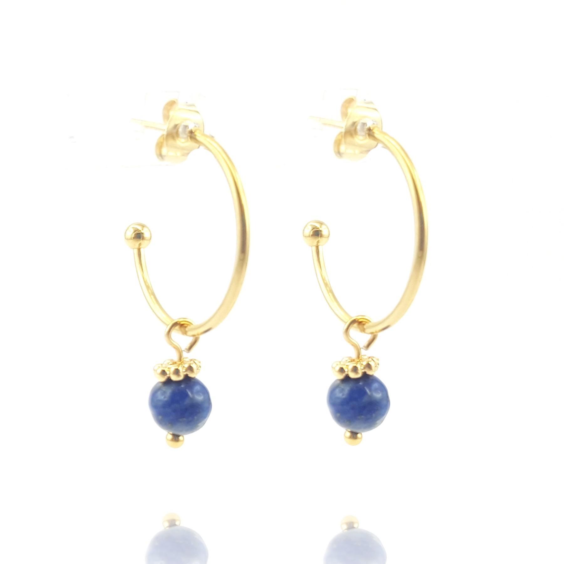 Demi-créole lapis lazuli