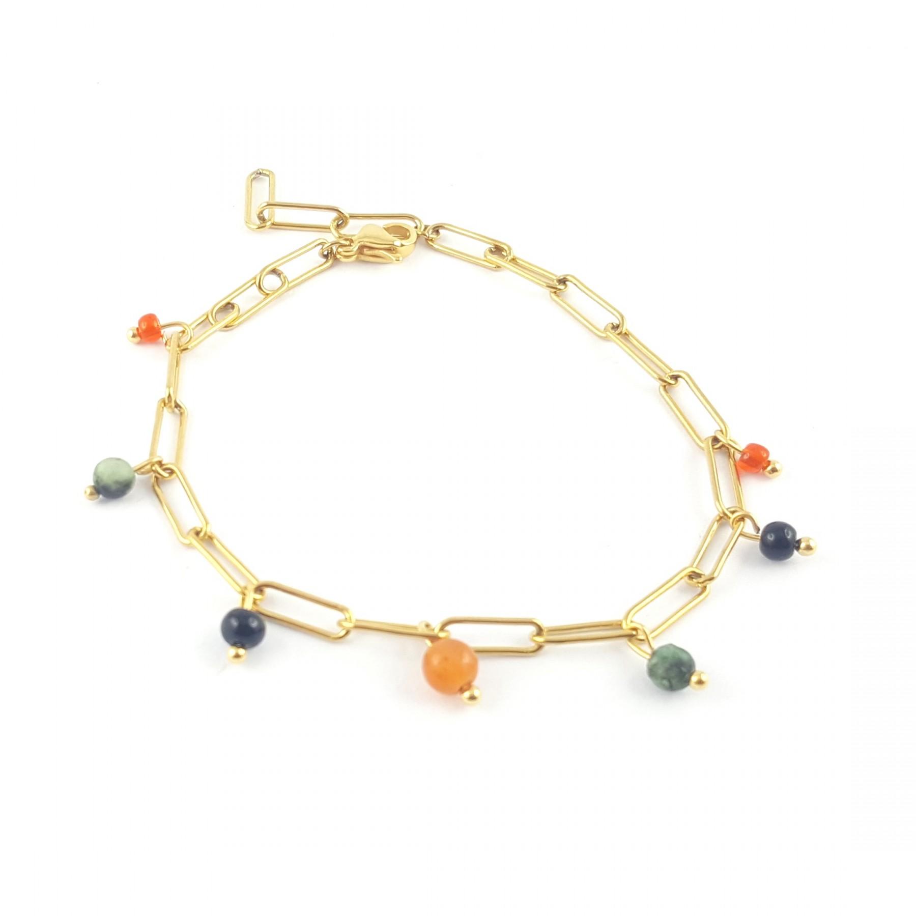 "Bracelet chaîne perles ""Bella"""