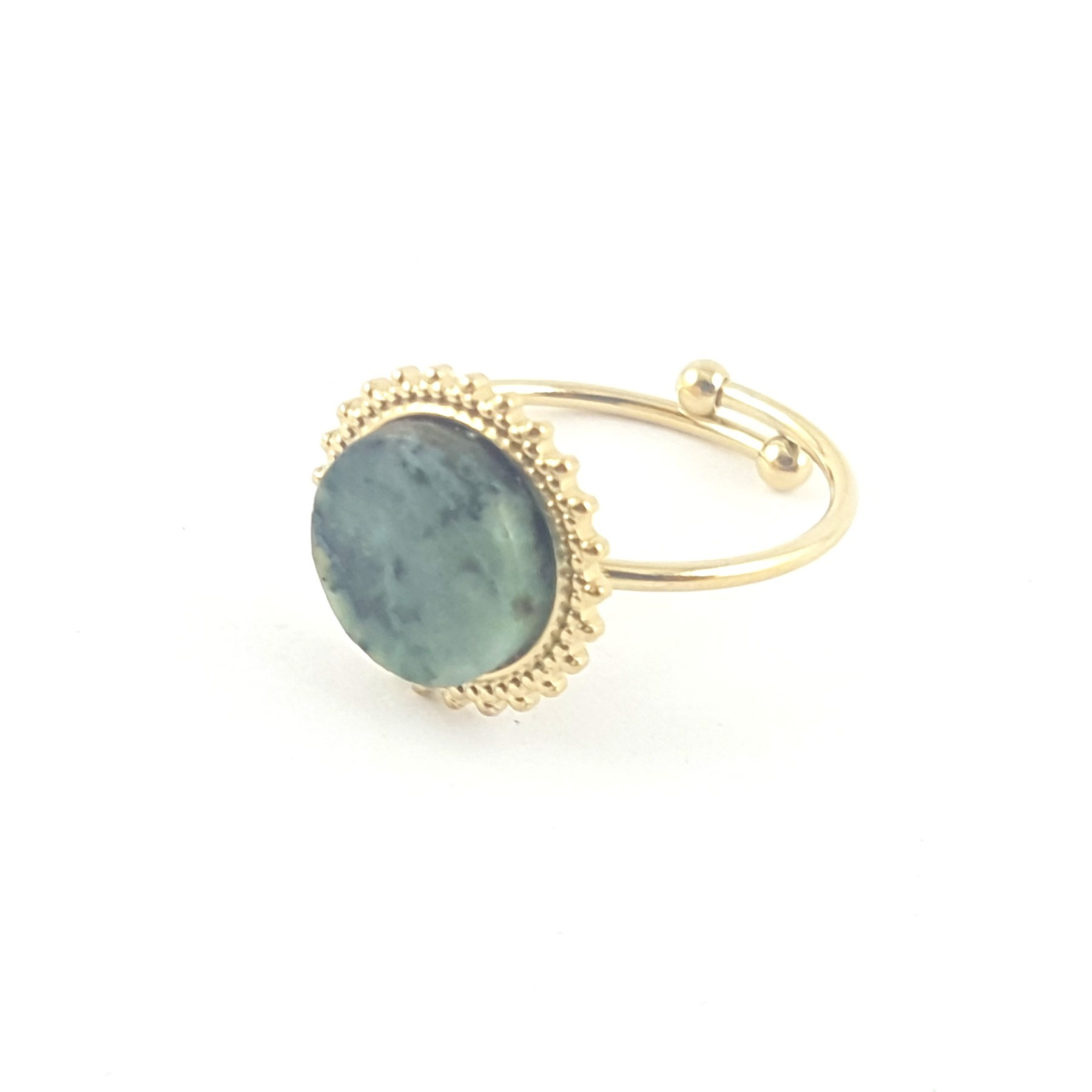 Bague soleil turquoise africaine