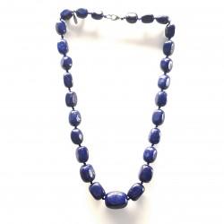 Collier mi-long lapis lazuli