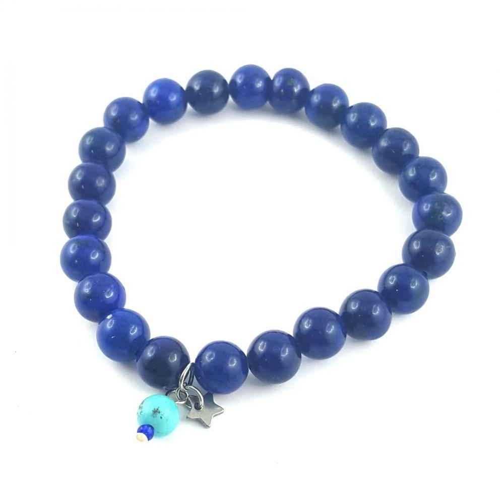 BRA élastique lapis lazuli