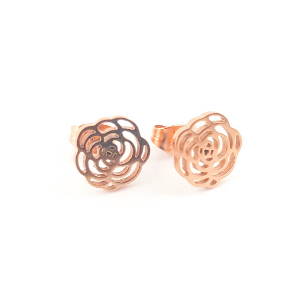 Puces fleur de rose - rosé