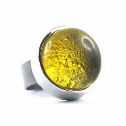 BAG POP jaune translucide