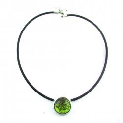 COL POP vert olive translucide
