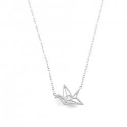 COL oiseau origami