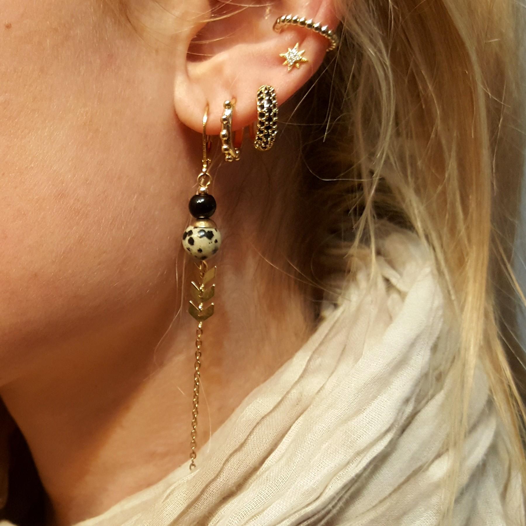 Accumulation bijoux acier - identites bijoux
