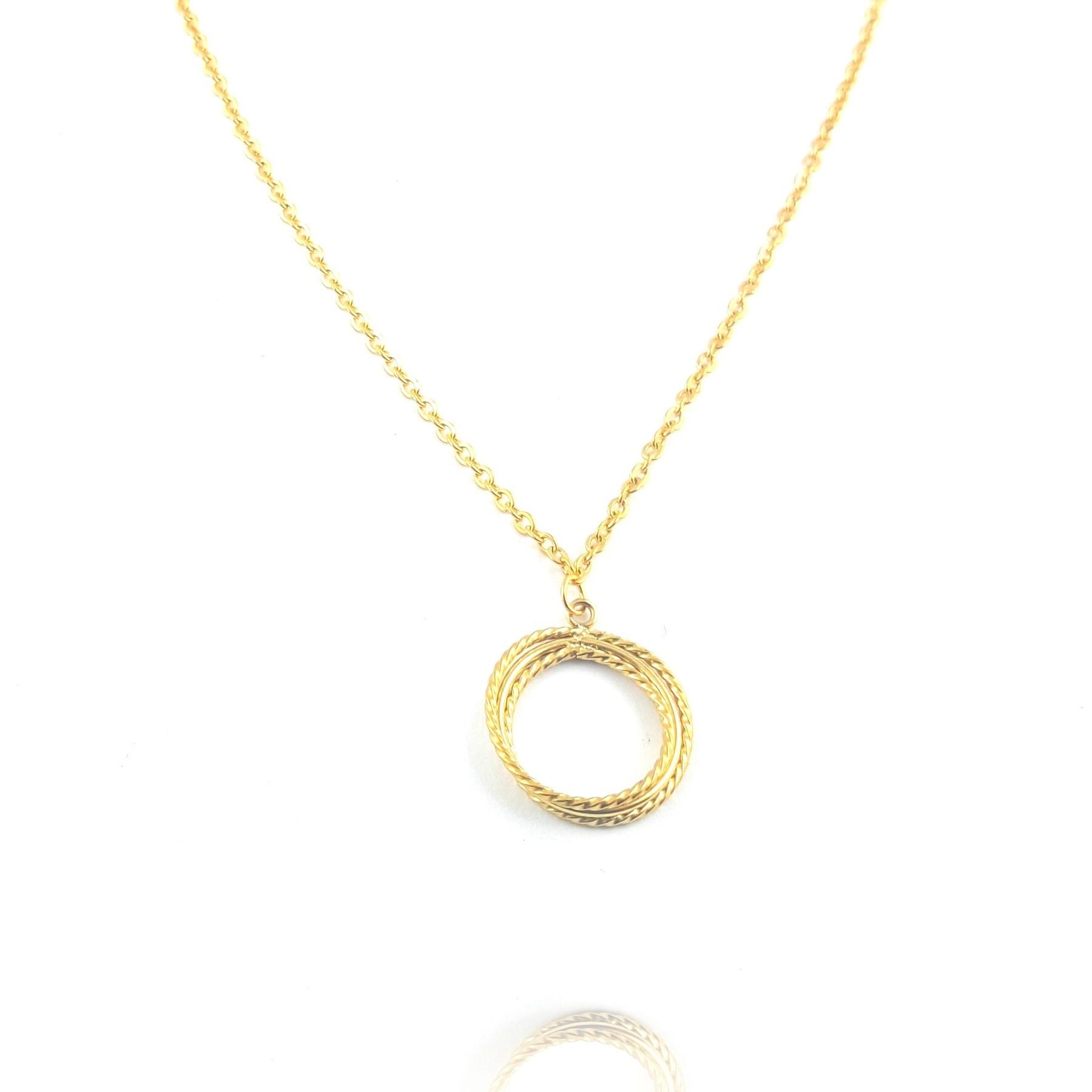 collier torsadé - identités bijoux - clermont ferrand