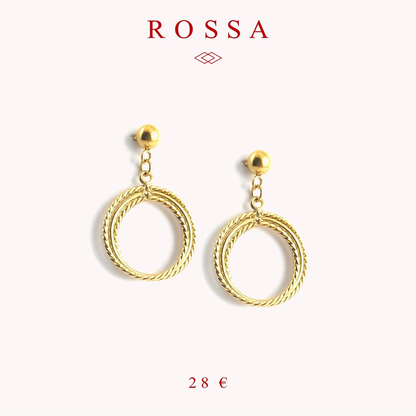 bijoux auvergnat - collection rossa - bijoux acier inoxydable - identités bijoux